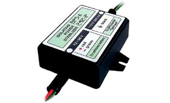 """Стабілізатор живлення ізолюючий застосовується для системи електроживлення GPS-трекера, датчиків рівня палива та інших пристроїв. Стабілізатор забезпечує гальванічну розв'язку ланцюгів живлення та обладнання. Застосовується в разі необхідності забезпечити живлення при відключенні """"маси""""."""